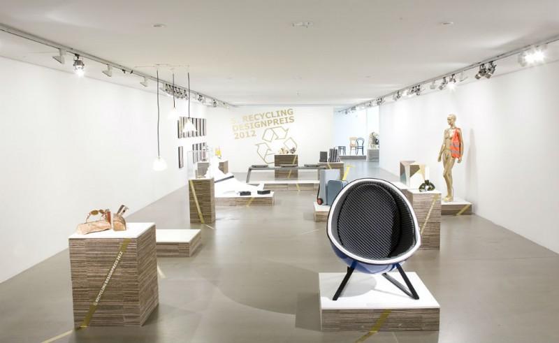 Recyclingdesignpreis Ausstellungsarchitektur