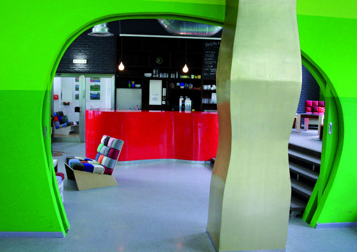 Jugendzentrum Die 9 Innenarchitektur Oliver Schübbe