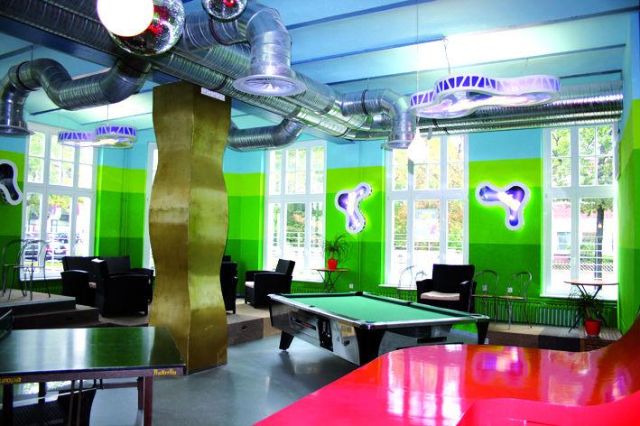 Jugendzentrum Die 9 Innenarchitektur