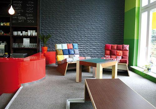 Jugendzentrum Innenraumgestaltung von Oliver Schübbe