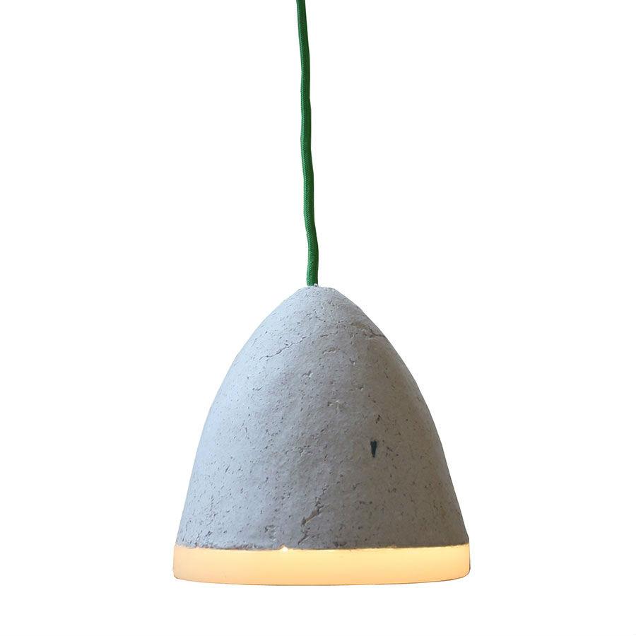 Pappmaché Leuchte