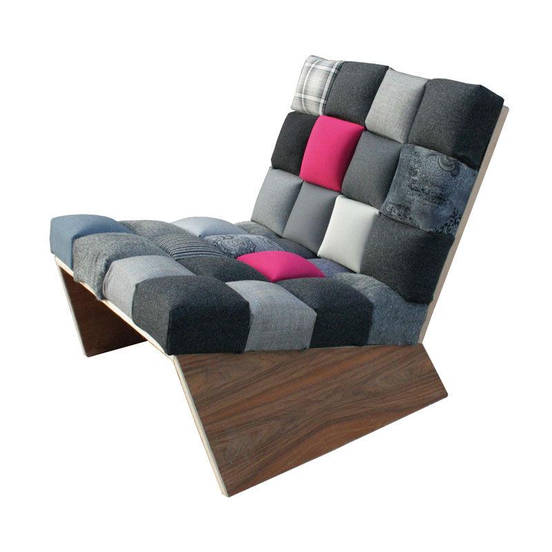 Sofa Pixelstar Upcycling