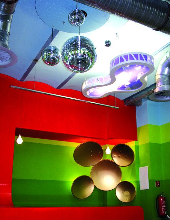Jugendzentrum Die 9 Innenraumgestaltung