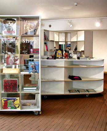 Innenraumgestaltung für den Marta Bookshop