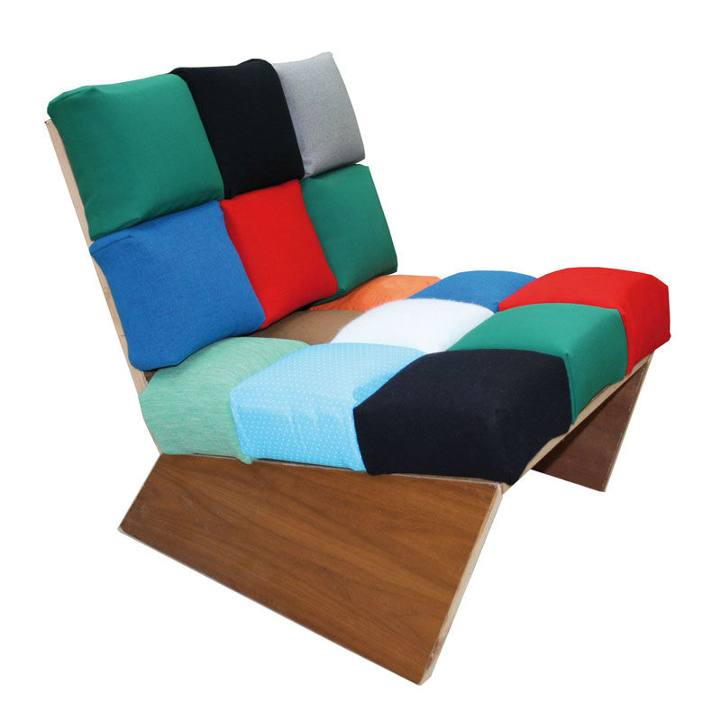 Sofa Pixelstar Upcycling